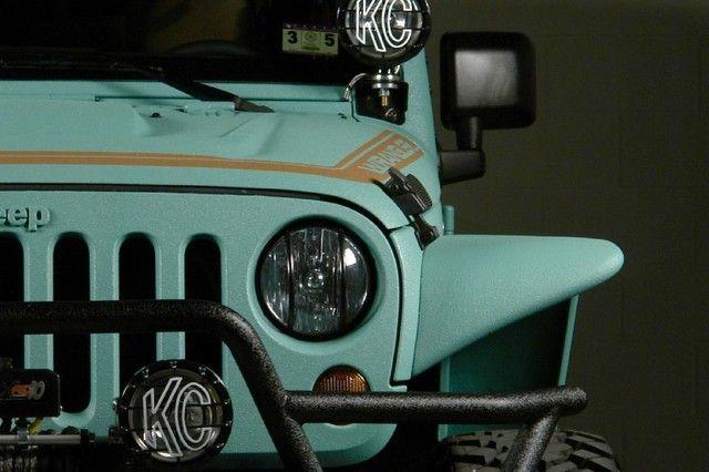 2013 Jeep Wrangler Paddleboard Green Kevlar Used Jeep Wrangler