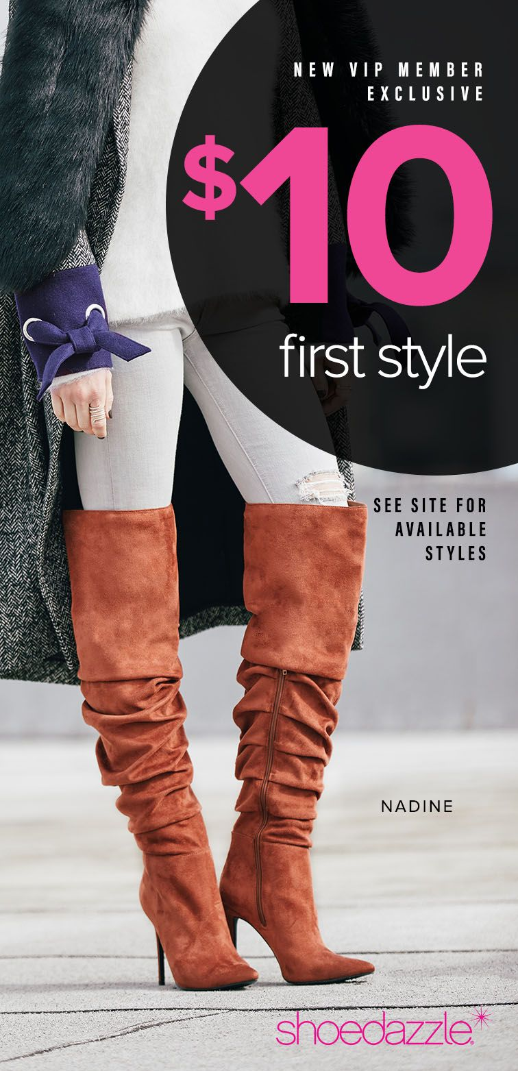 864c83a9519e9 Boot Season is Here - Get Your First Pair of Over The Knee Boots for Only  $10! Take the 60 Second Style Quiz to get this exclusive offer!