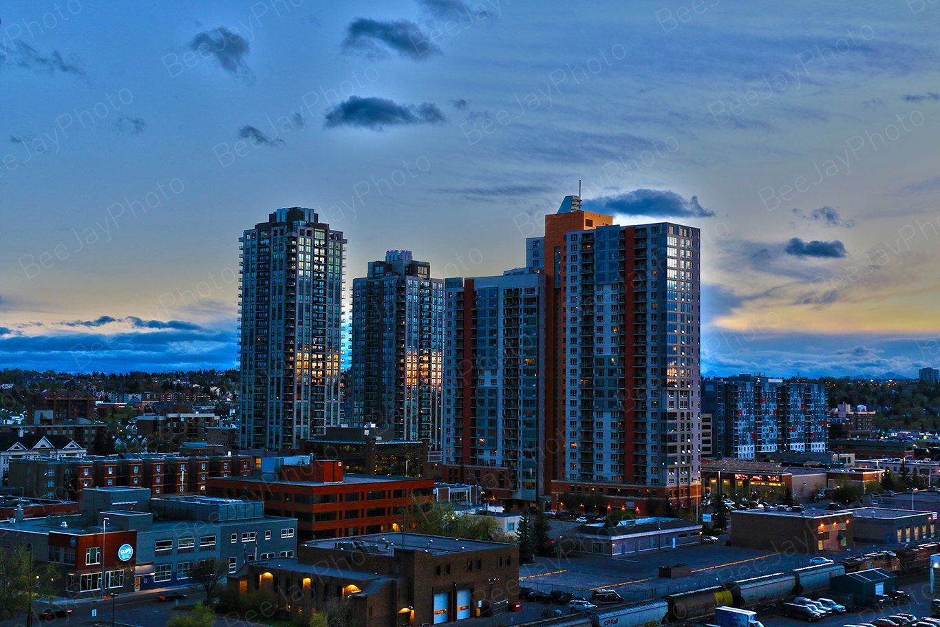 Calgary Cowtown Travel Canada City View