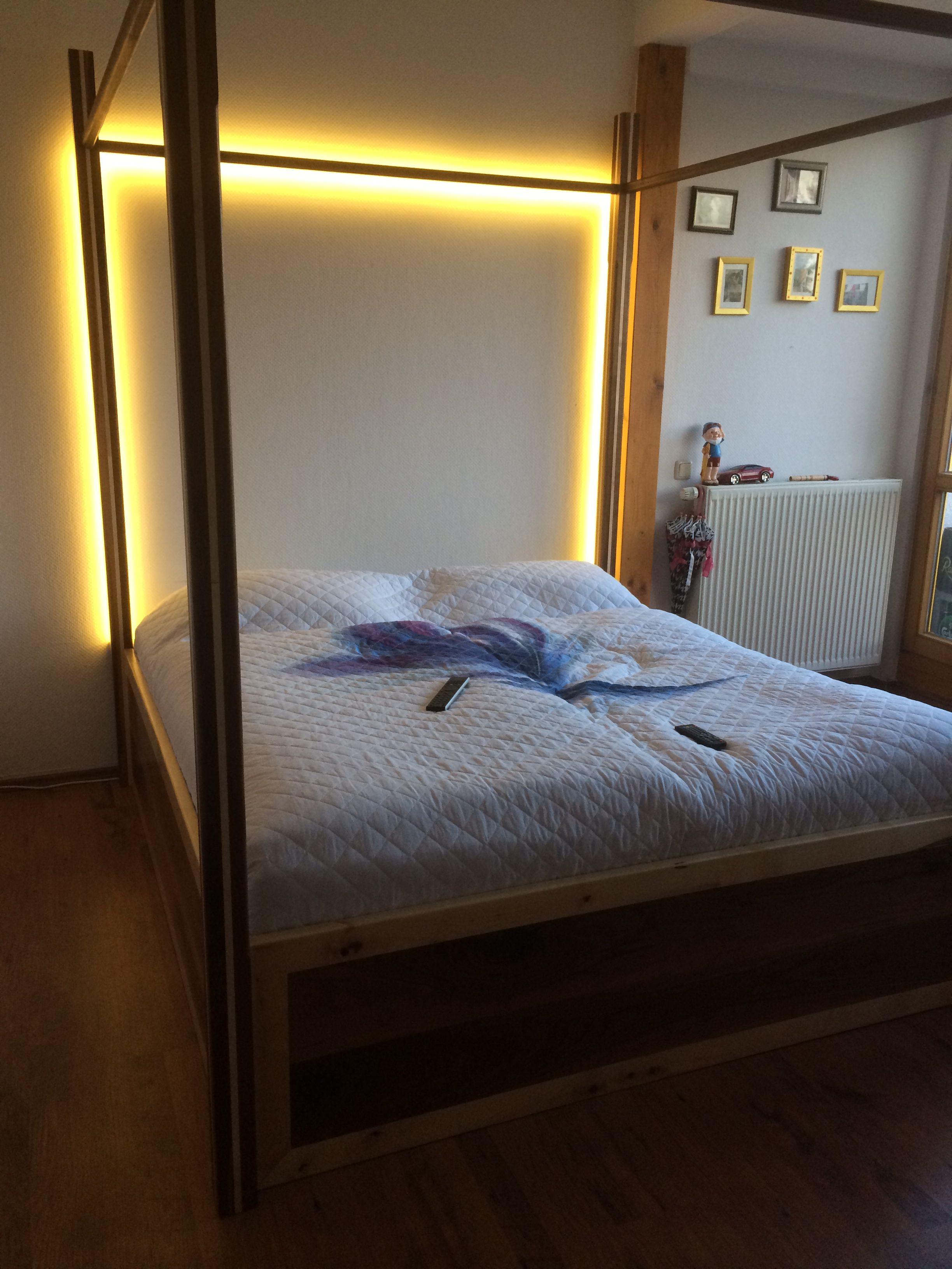 Diy himmelbett verschiedenes pinterest bedrooms - Himmelbett diy ...