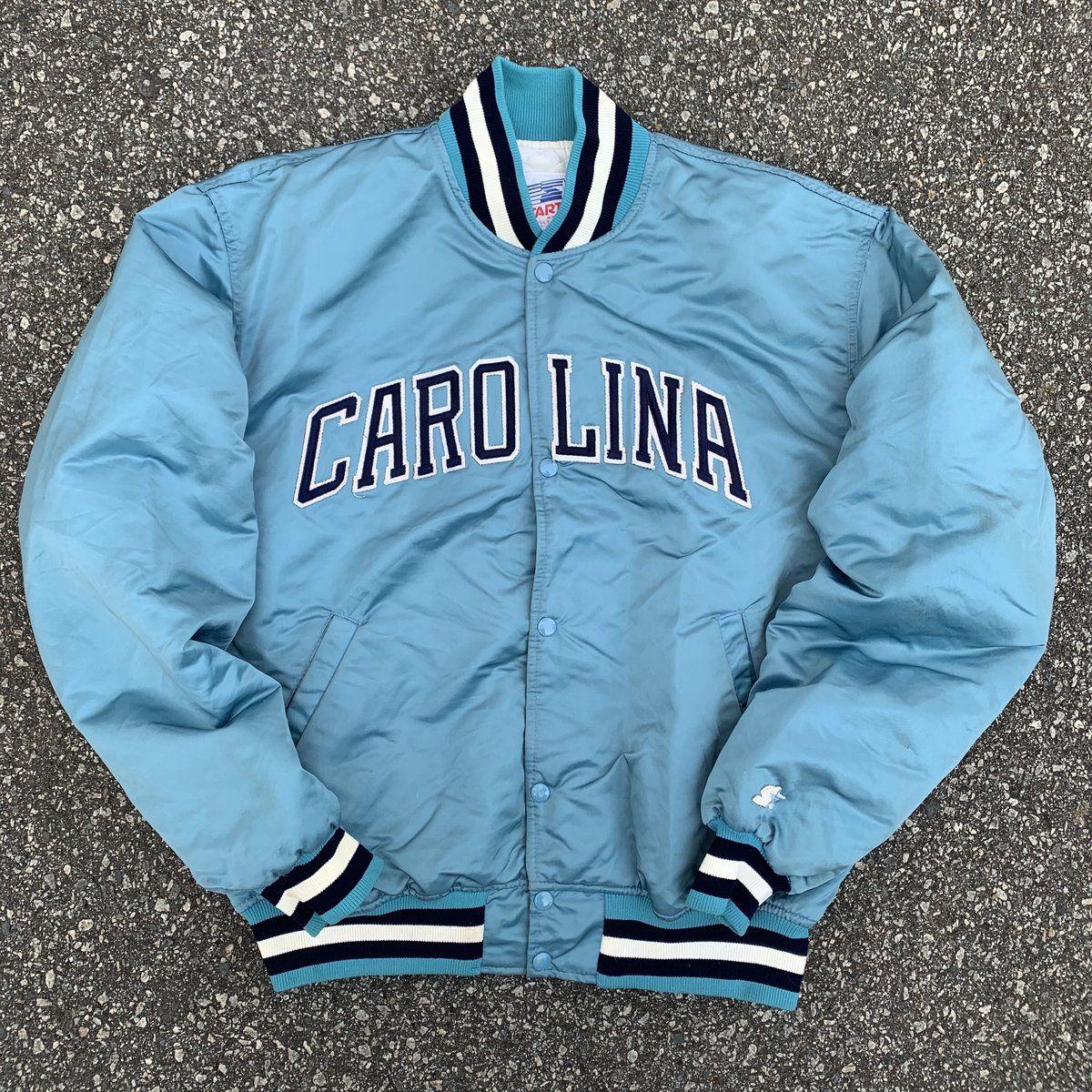 80 S Unc North Carolina Tarheels Vintage Starter Jacket North Carolina Tar Heels College Jackets Online Vintage Shop [ 1200 x 1200 Pixel ]