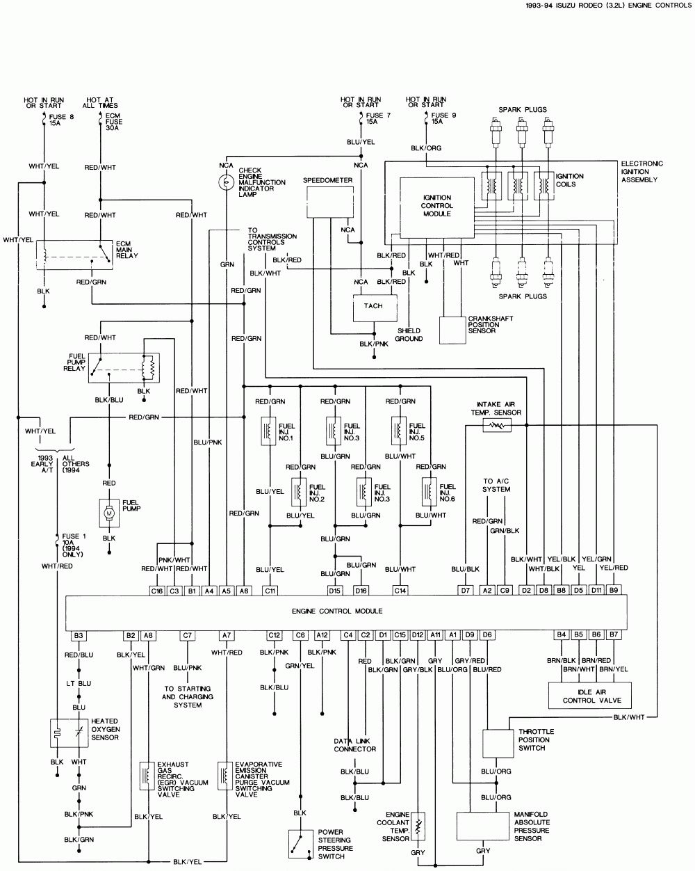 1990 isuzu wiring diagram