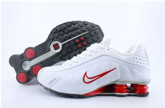 best cheap 48778 519ae nike+shox+shoes   Nike Shox R4 Men Shoes-002