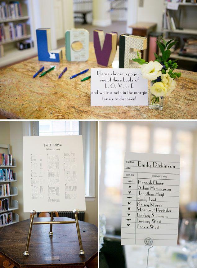 Library Themed Wedding Library Themed Wedding Emily And Adam