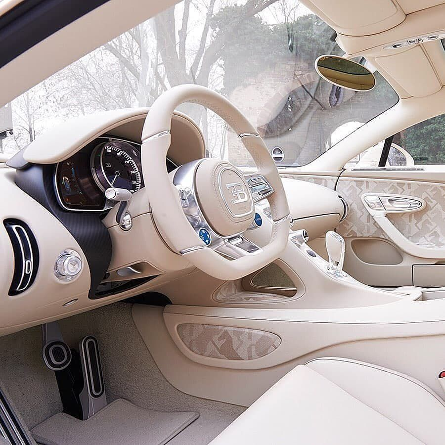 Billionaires Movement On Instagram Cream White Hermes Bugatti Interior Do You Like It Dm In 2020 Bugatti Chiron Bugatti Chiron Interior Luxury Car Interior