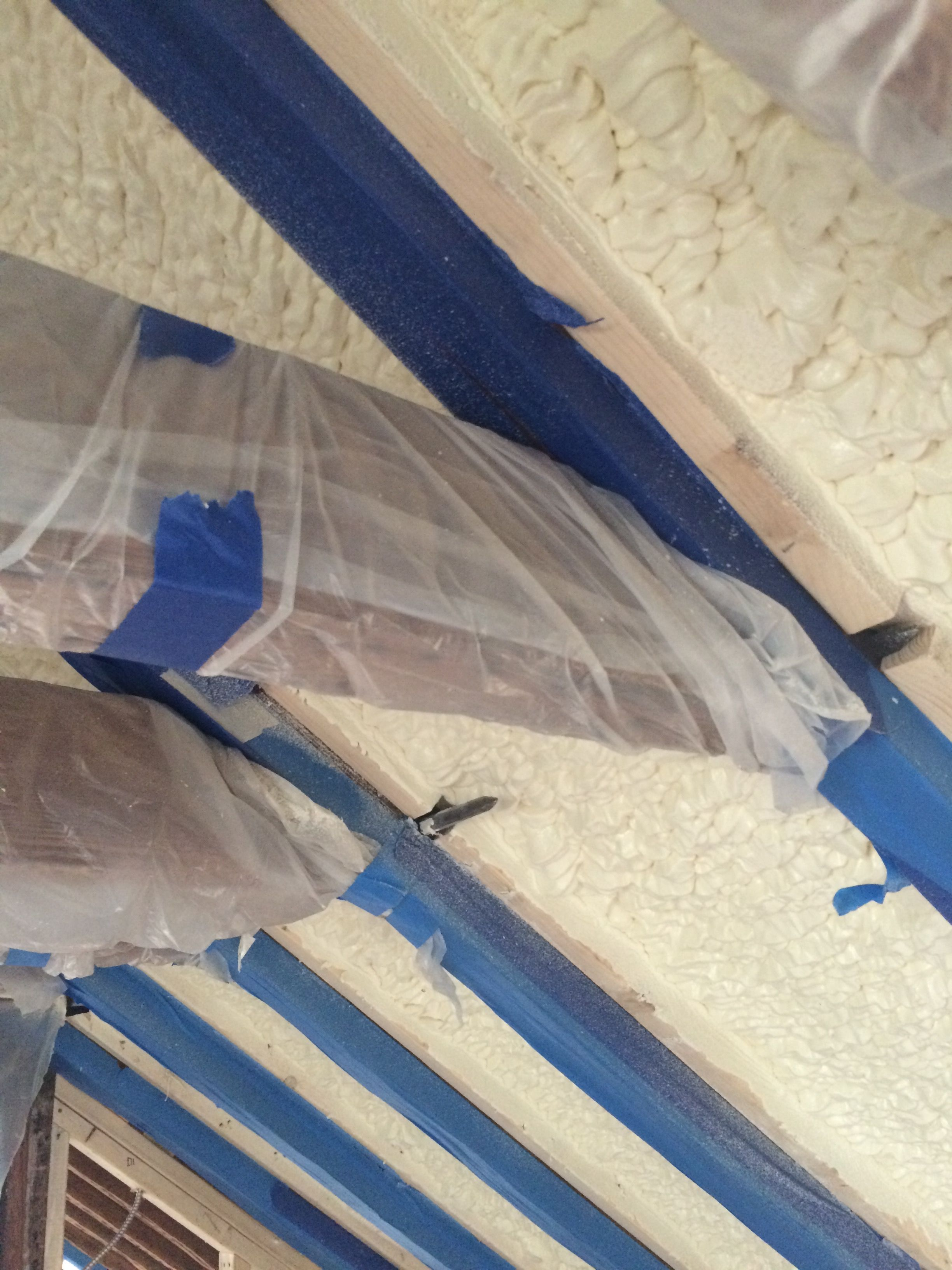 The Summer Sun In Charleston Is Hot We Use High R Value Closed Cell Low Emitting Spray Foam Insulation In Historic Renovation Spray Foam Insulation R Value