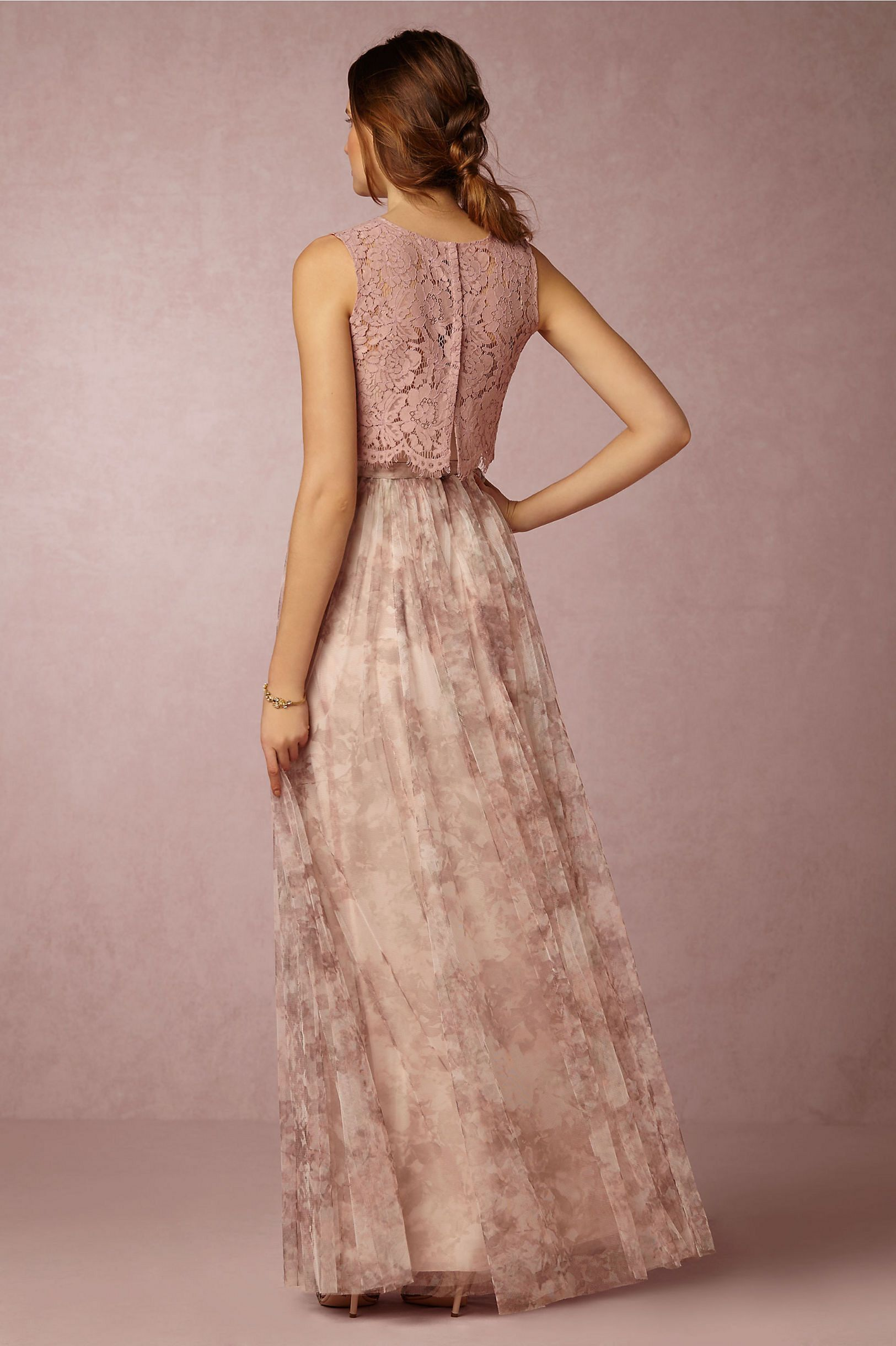 beautiful long floral bridesmaid dresses design ideas floral