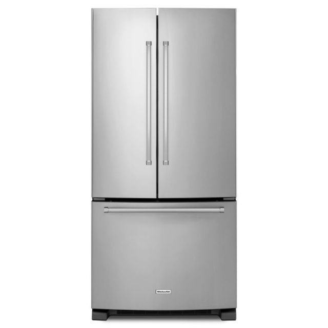 Galley Kitchen With French Doors: Danby Designer DCR044A2BDD Refrigerator