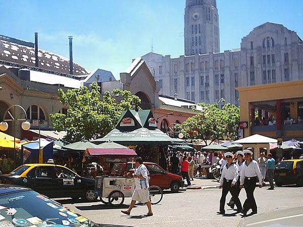 Mercado Del Puerto Montevideo Uruguay Puerto
