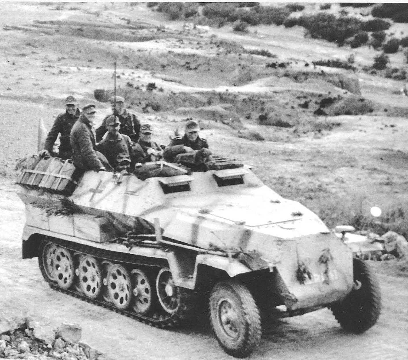 PzgrR  60 of 10th PzD  | military vehicles | German soldiers