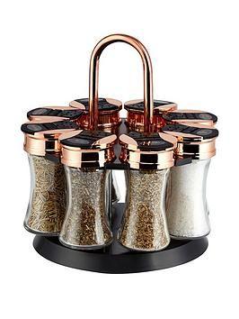 Littlewoods Ireland Online Shopping Fashion Homeware Rose Gold Kitchen Gold Kitchen Accessories Spice Rack Black