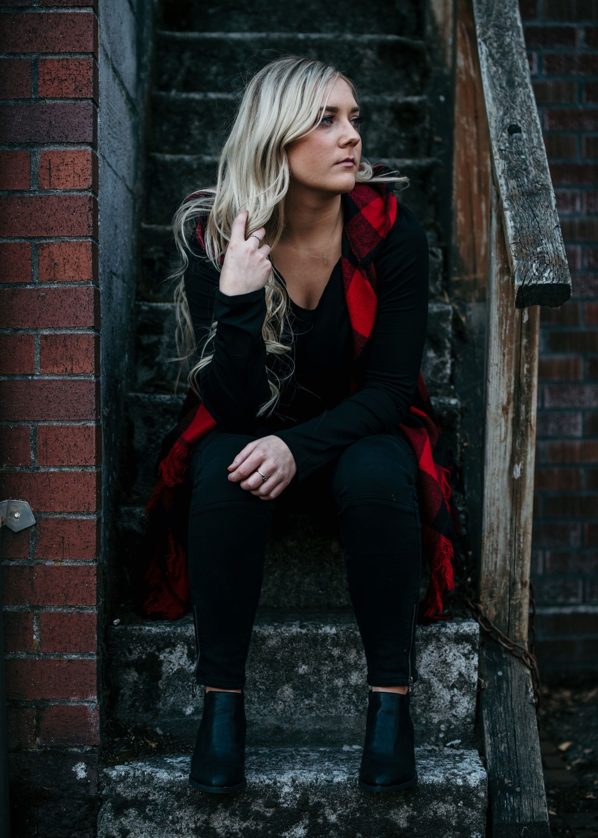 Bring on the Holidays! Our Buffalo Plaid Red and Black