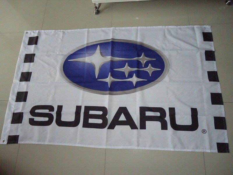 2017 NEW car racing flag banner flags 3x5FT for IMPREZA WRX Flag free shipping