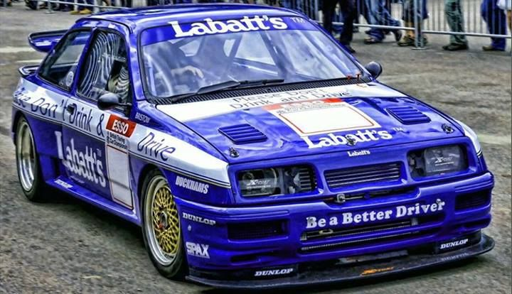 Ra Ford Sierra Cosworth Rs 500 Ford Sierra Ford Racing Ford Rs