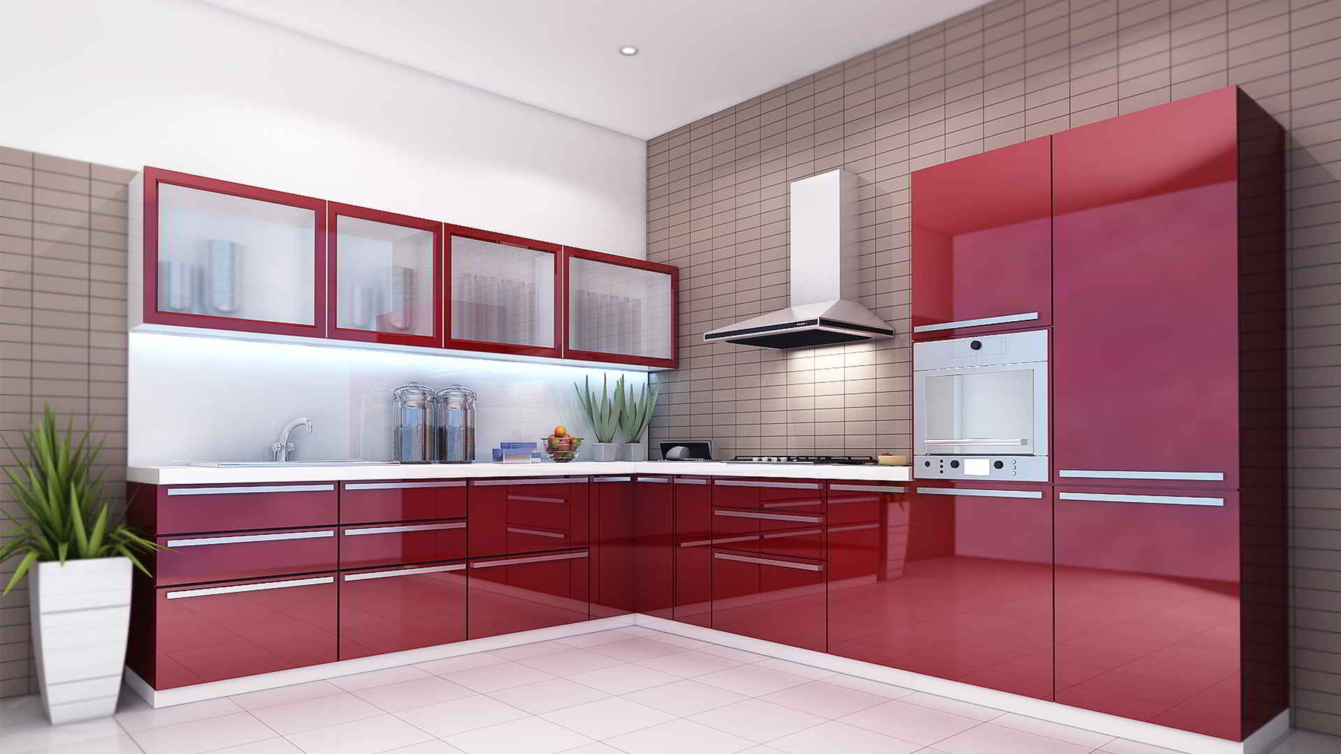Kitchen Happens To Be The Very Important Place For Which You Need To Keep  It Clean And Hygiene. If You Wish To Get Modular Kitchen Interior Solutions  It Is ...