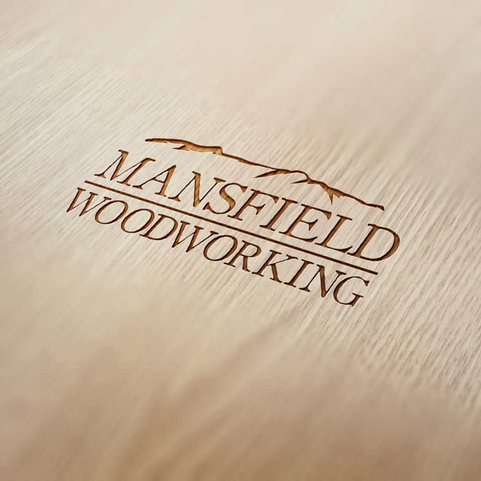 Mansfield woodworking logo design logo pinterest business cards mansfield woodworking logo design magicingreecefo Image collections