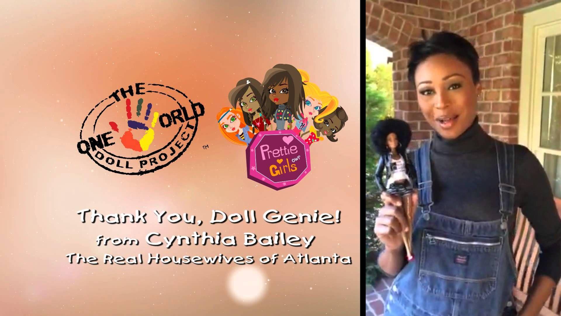 "Cynthia Bailey says ""Thank You Doll Genie"" Prettie Girls"