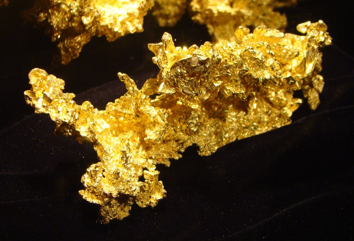 Fricot Nugget at California State Mineral Exhibit in Mariposa