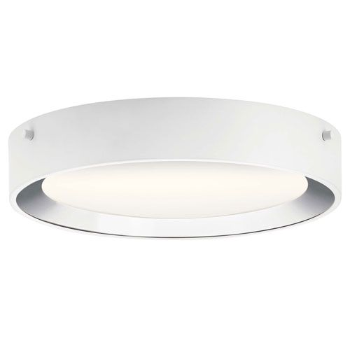 Elan 84048 Incus Chrome 11 Inch Led Flush Mount Bellacor Led Flush Mount Flush Mount Flush Mount Ceiling