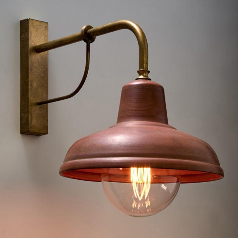 Deksel Indoor Wall Light In Matt Aged Copper Cla Lighting Pl Deksel02 In 2020 Interior Wall Lights Copper Wall Light Wall Lights