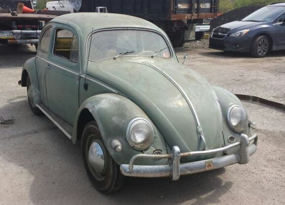 Demi Moore S First Car An Old Beat Up Prime Green Vw Beetle Bug