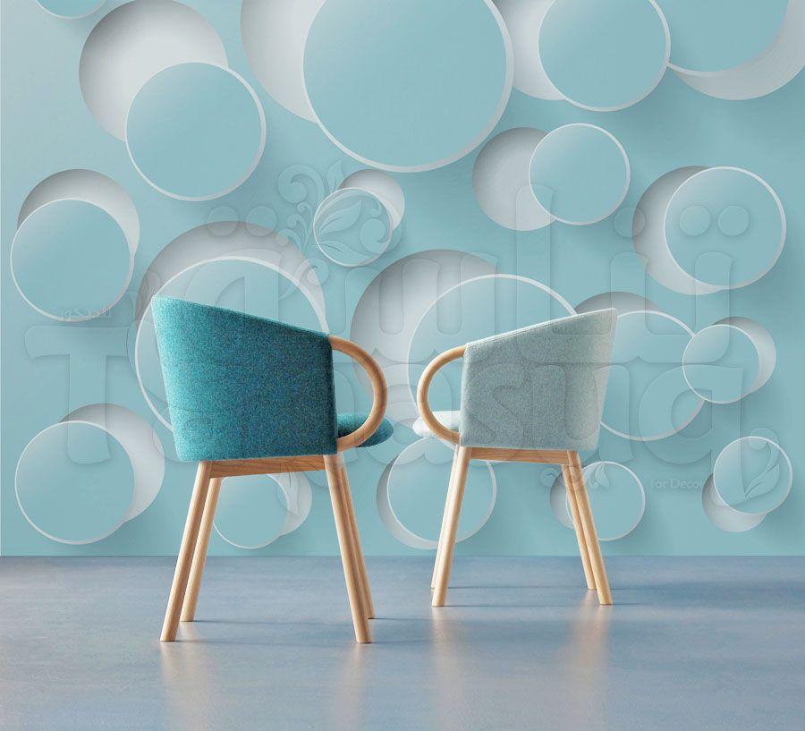 ورق جدران ثلاثي الابعاد Tanasuq Home Decor Decor Dining Chairs