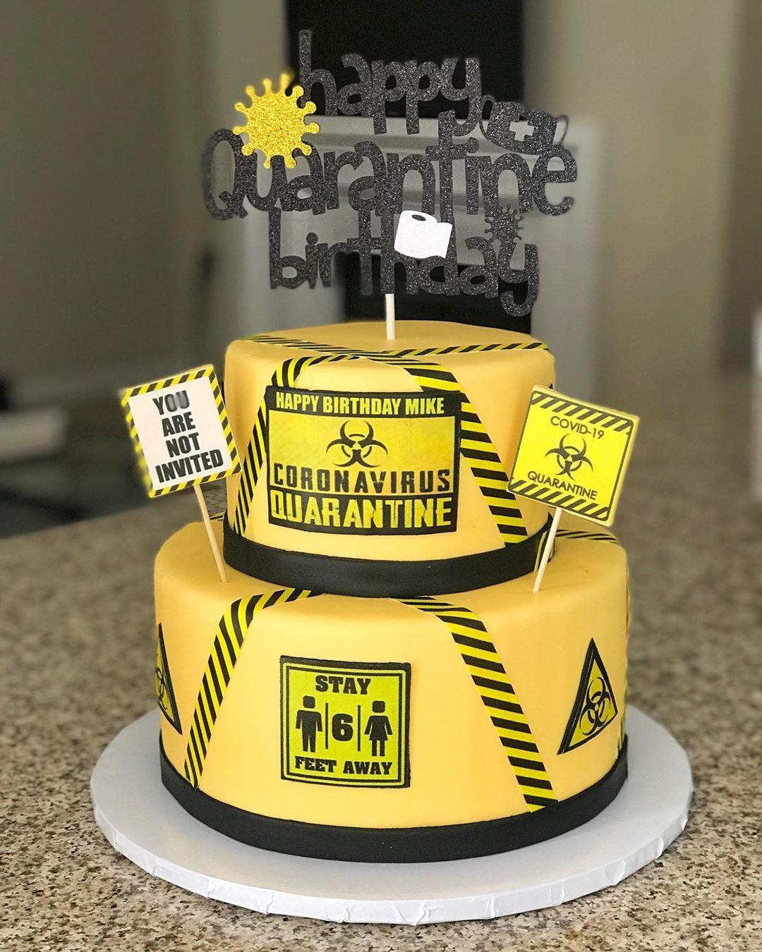 45+ Quarantine Birthday Cake Images