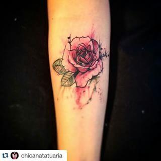 tattoo flor aquarela - Pesquisa Google