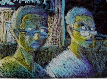 Pastel Portraits Oil Pastel Lesson Plan  Expressive Oil Pastel Portraits   This is not a lesson for the elementary level but a good reminder of how intense lightbright oi...