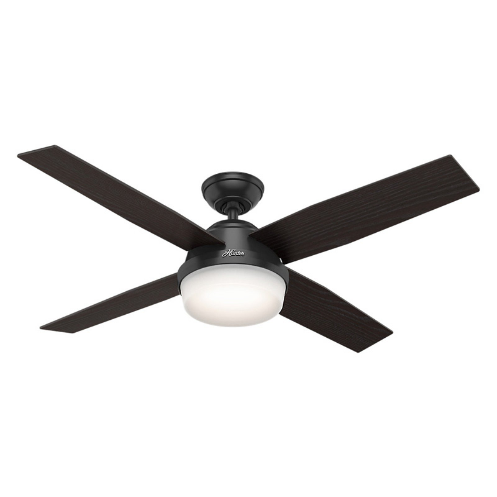 hunter dempsey 52 in indoor outdoor ceiling fan with light and rh pinterest com