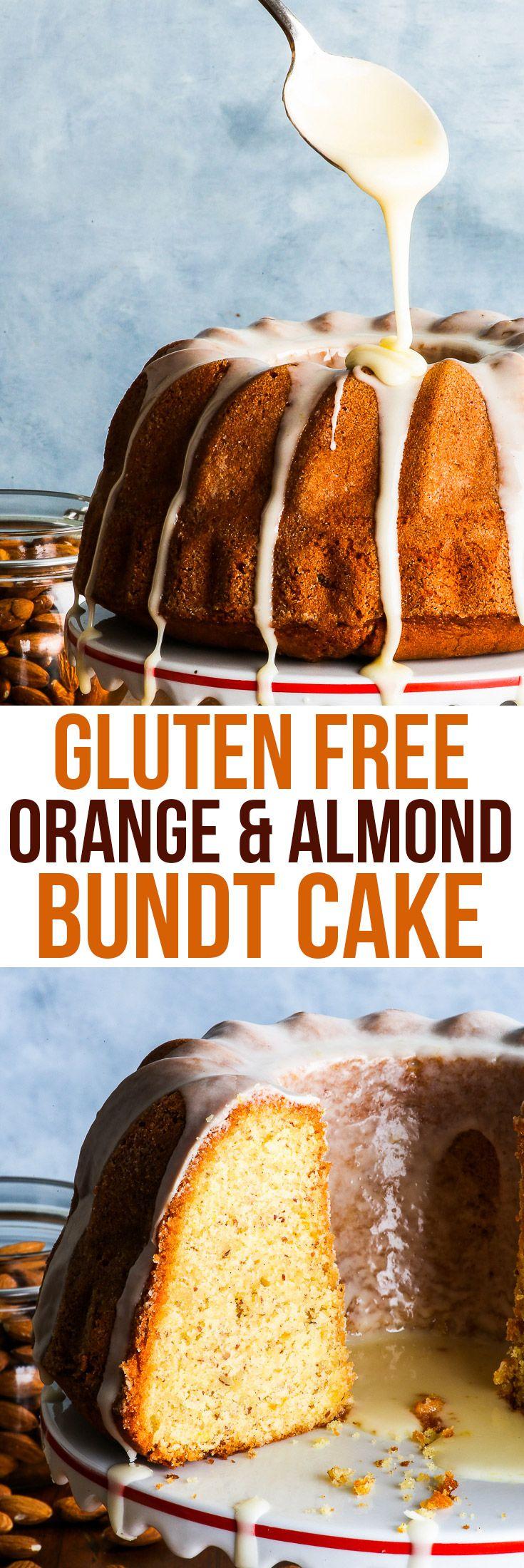 Gluten free almond orange bundt cake gluten peanut