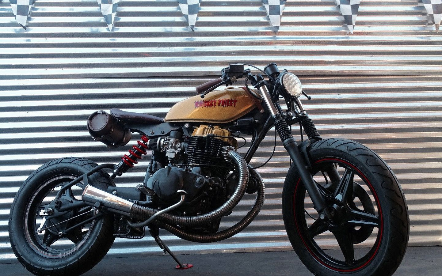 The Whiskey Priest Inazuma Cafe Racer Cafe Racer Vintage