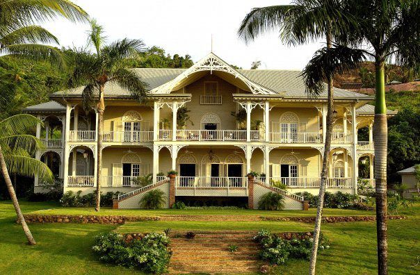 French Caribbean Plantation Architecture Dominican Republic Peninsula House Hotel Is A Secluded Style Guesthouse