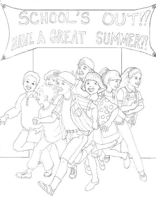 last day of school printables  june coloring pages and