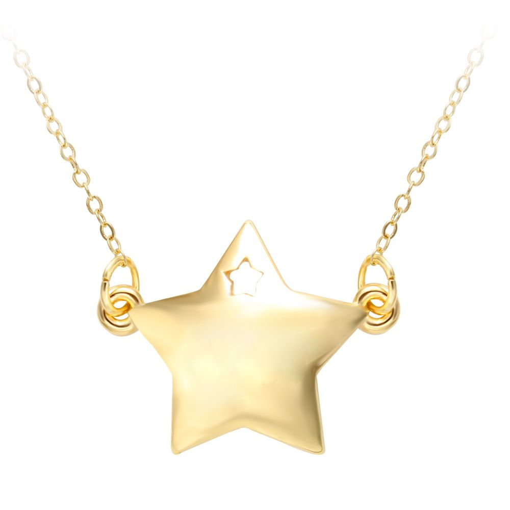 fashionable product shape moon one necklace jewel chains star jewellery and detail pendant