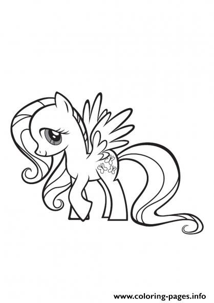 Print my little pony fluttershy coloring pages Andrews Room