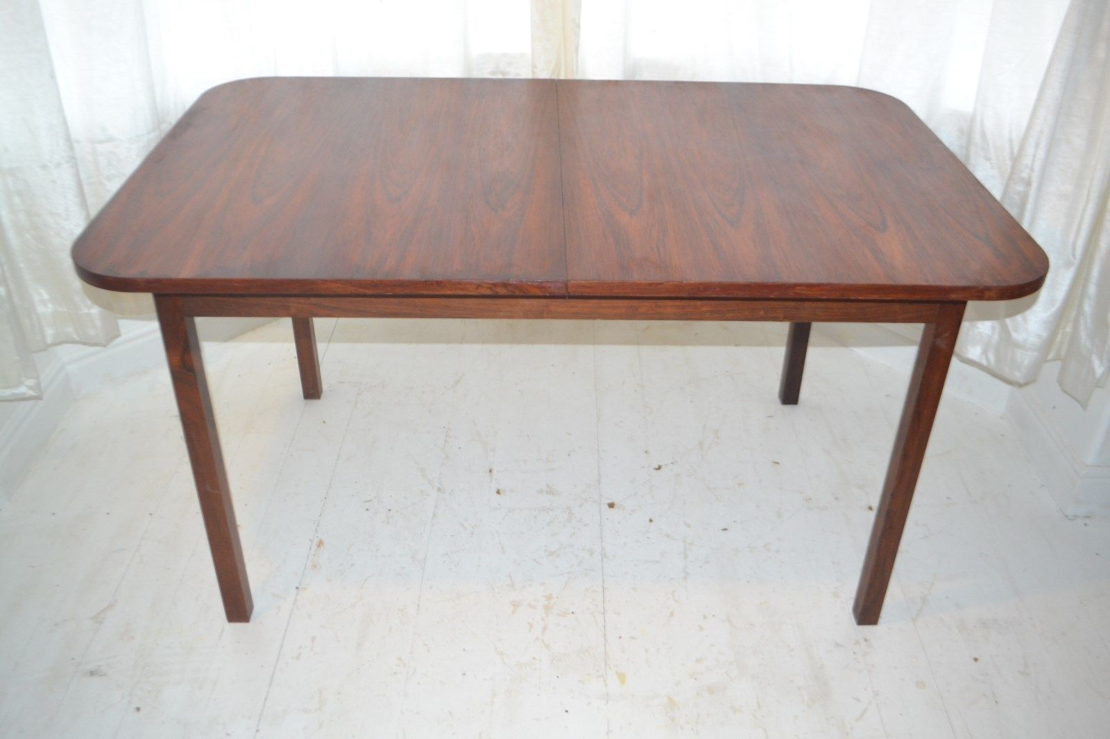 Stunning Vintage Rosewood Extending Dining Table Trends Dining