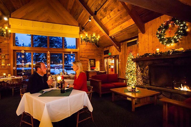 Dining at granlibakken tahoe cedar house pub tahoe