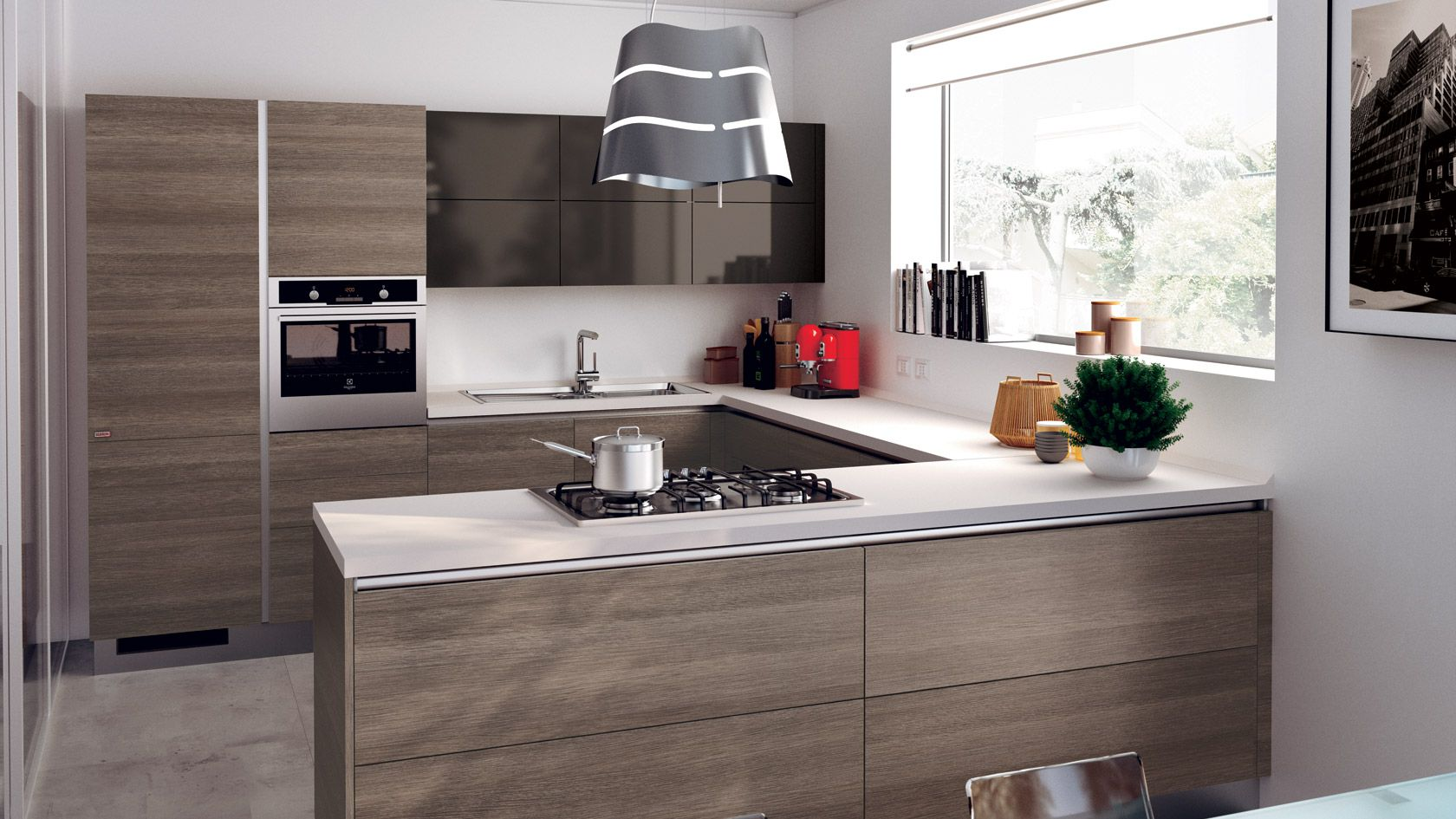 Evoluzione di forme, colori e materiali per una cucina sempre più ...