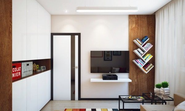 Minimalist Kucuk Ev Dekorasyonu Apartment Design Minimalist Living Room Apartment Minimalist Bedroom