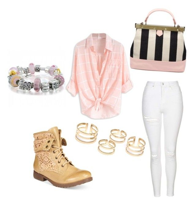 """""""Outing"""" by annemarie-schuyt on Polyvore featuring Topshop, ZiGiny and Bling Jewelry"""