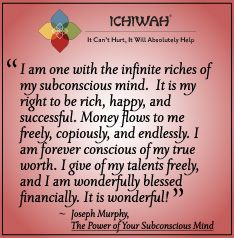 Joseph Murphy quote from The Power of Your Subconscious Mind