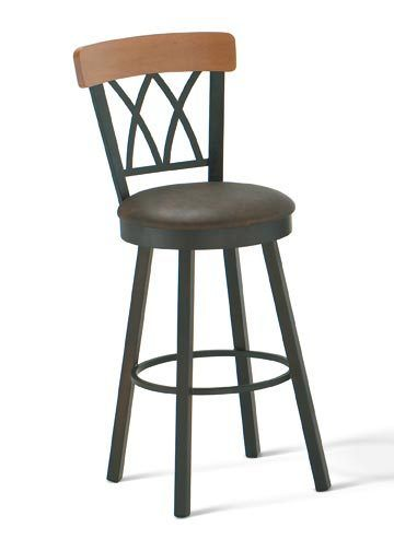 Brittany Bar Stool By Amisco With Images Stool Swivel Stool