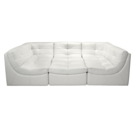 Cloud Modular Sectional White From Z Gallerie With
