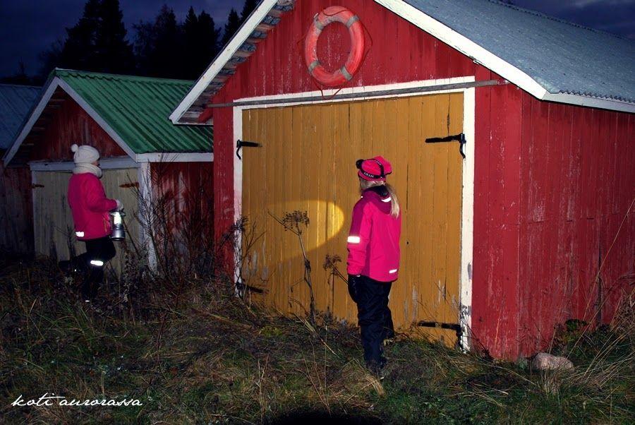 Koti Aurorassa: Syksyinen retki pimeässä