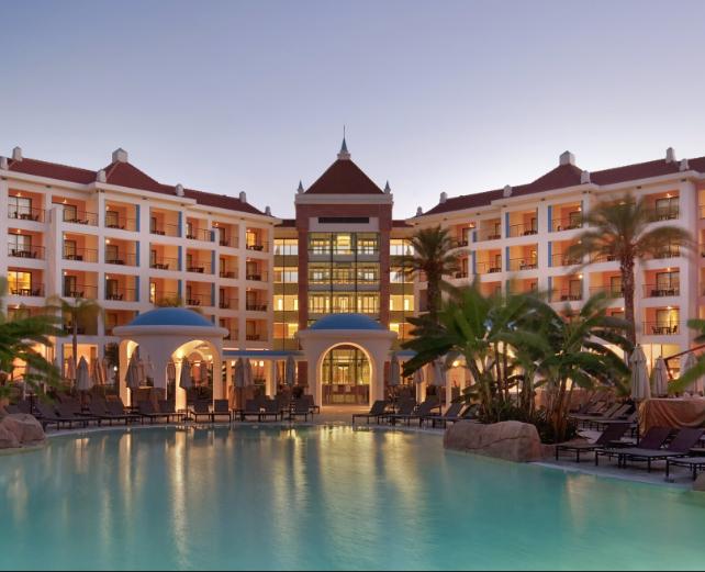 Melhor Resort de Golfe (Hilton #vilamoura) prémio atribuído pelos #worldtravelawards.