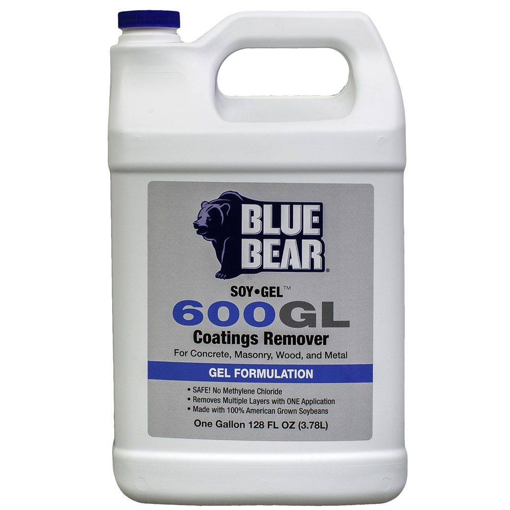 Paint, Varnish and Coatings Remover 600GL SOY Gel 1