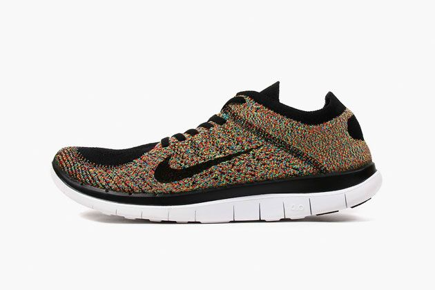 Nike Free Run Flyknit 4.0 Multicolor