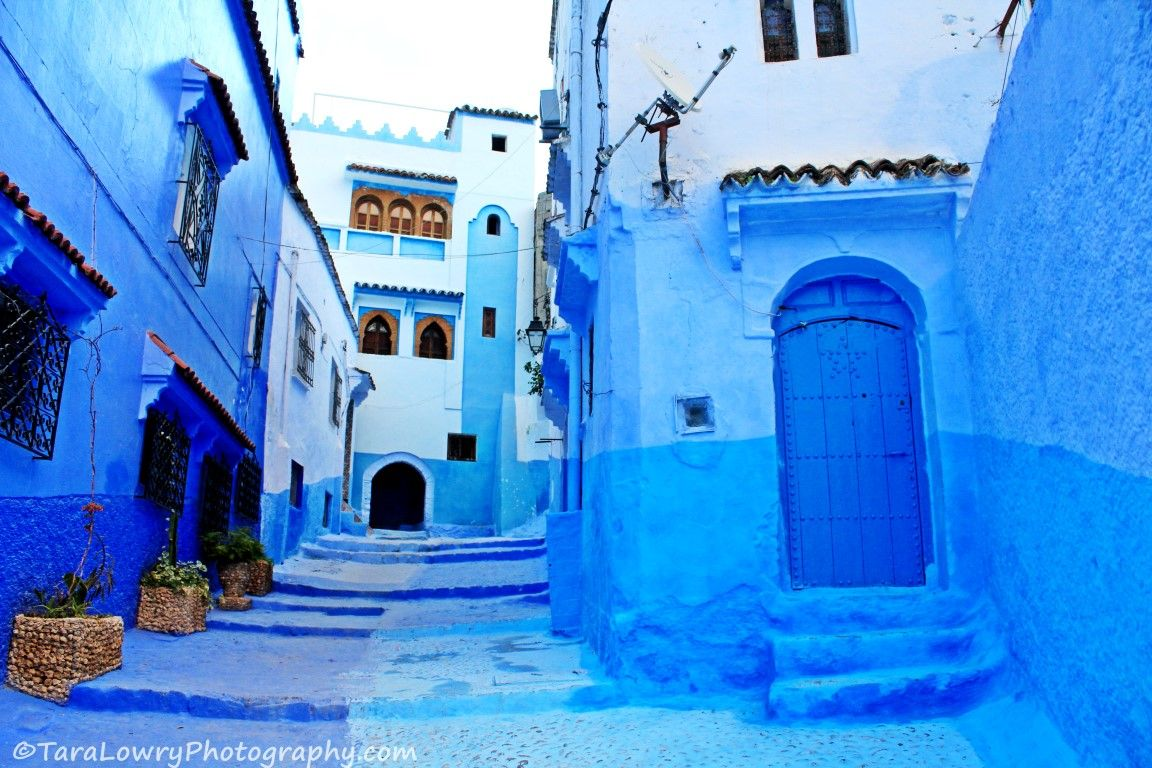 Why so Blue? The Pretty Town of Chefchaouen, Morocco