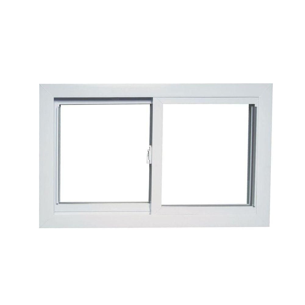 Vinyl window casing - 70 Series Sliding White Vinyl Window With Buck Frame